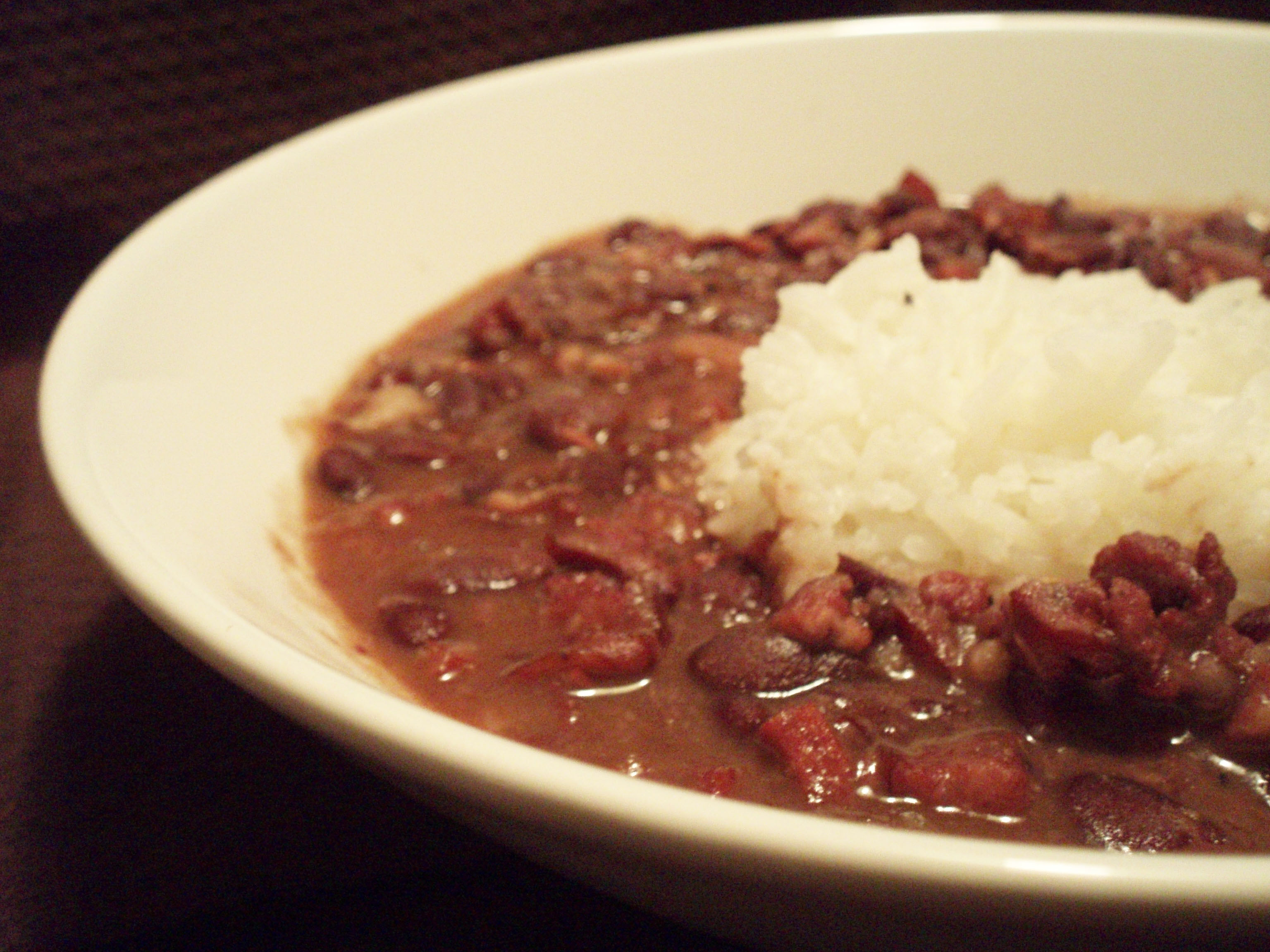 ... red beans and rice cajun style red bean and rice soup recipe yummly