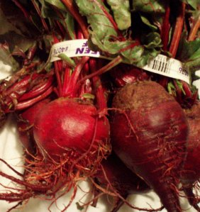 Gorgeous Red Beets