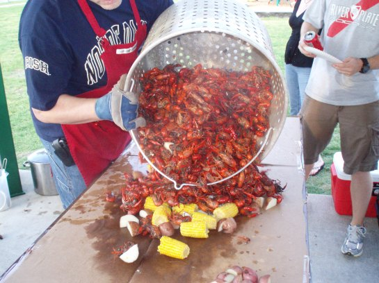 Hot and Tasty Crawfish, Ready to Eat!