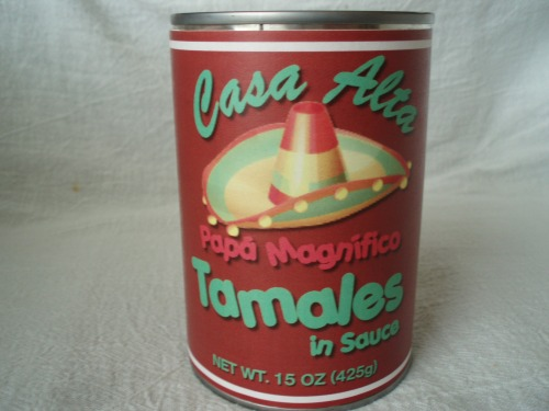 Dad's version of canned tamales
