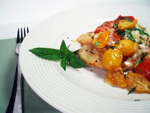 chicken and tomato sauce 001